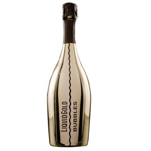 Vang nổ Liquid Gold Prosecco Elegant Bubbles GOLD