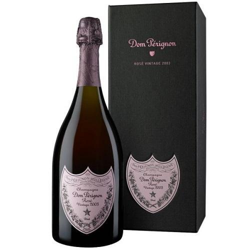 Vang nổ champagne Dom Perignon Rose
