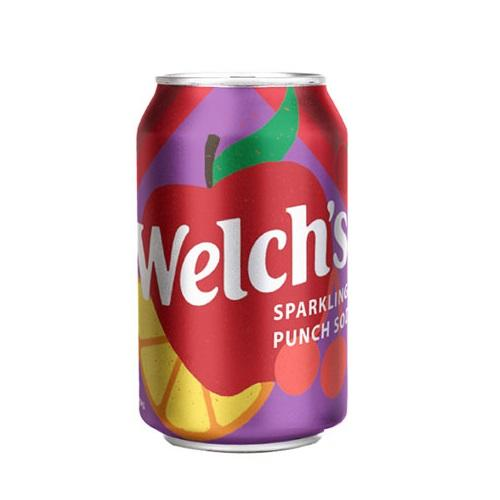Welch's Punch Soda