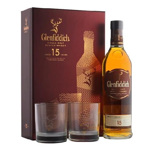 Hộp Quà Rượu Glenfiddich 15 (2019)
